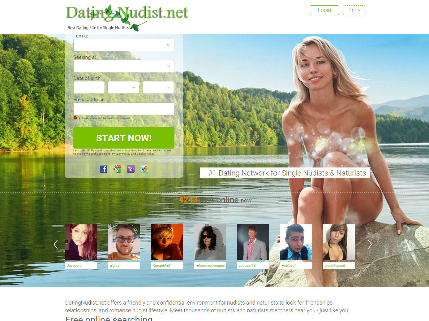 nude dating services