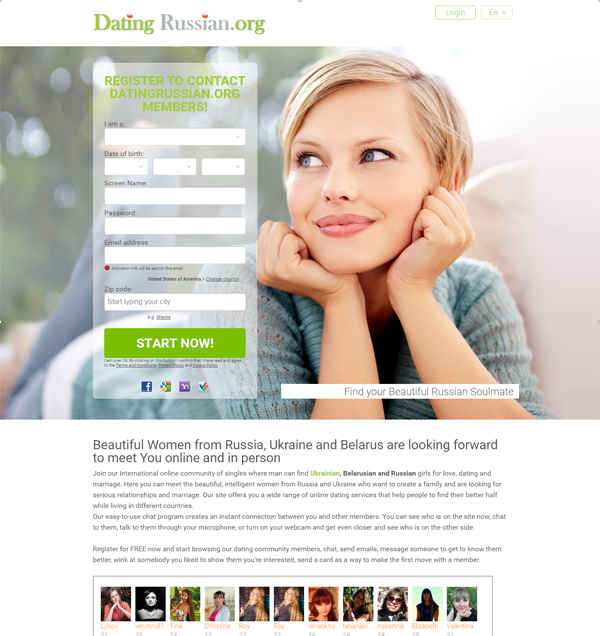 Internationale dating-sites kostenlos