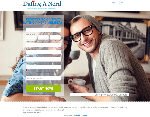 Dating sites for nerds canada