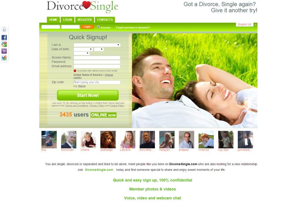 chaffee divorced singles dating site Divorced passions is a 100% free online dating & social networking site where divorced singles can meet depending on who you listen to, divorce statistics range between 40% and 50% of all marriages.
