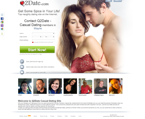 Best dating sites for nsa
